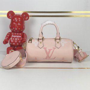 LV Papillon BB Rosebud Bag M45707